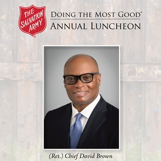 Ret. Dallas Police Chief David Brown To Deliver Keynote at SA's 2017 'Doing The Most Good' Luncheon