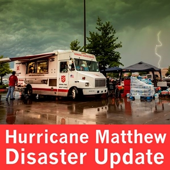 The Salvation Army Mobilizes Resources to help victims of Hurricane Matthew