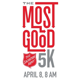 THE SALVATION ARMY MOST GOOD 5K
