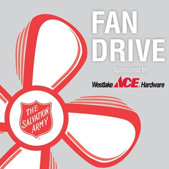 Salvation Army and Westlake Ace Hardware Partner to Bring Relief from Heat