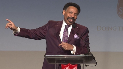 Dr. Tony Evans Speaks at The Salvation Army's 2019 Dallas Luncheon
