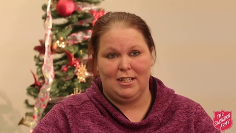Amy Receives Christmas Gifts for Her Kids
