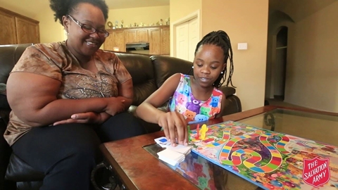 The Salvation Army Helps Tianisha