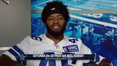 Alfred Morris - North Texas Giving Day
