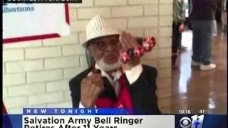The Salvation Army DFW Red Kettle Bell Ringer Retires