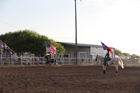 American Flag Presentation on Friday in Eldorado, 2017