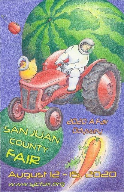 2020 San Juan County Fair Poster