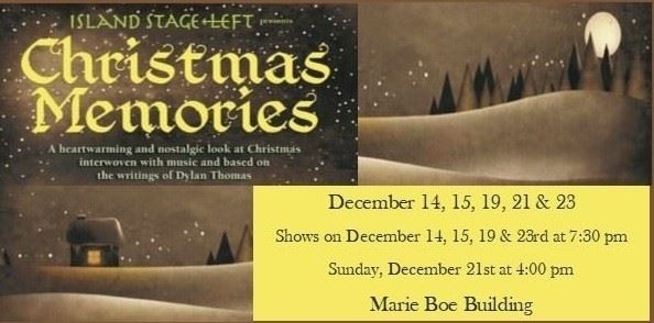 Island Stage Left presents Christmas Memories