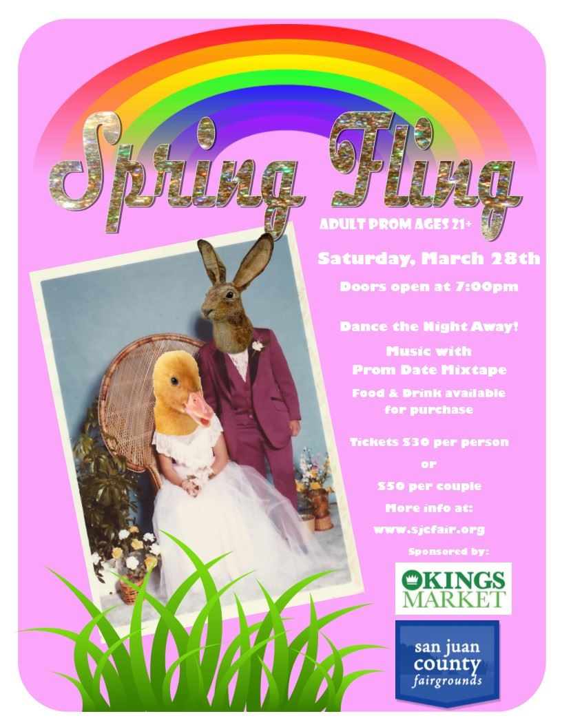 Spring Fling, Saturday March 21, 2020 7:00pm