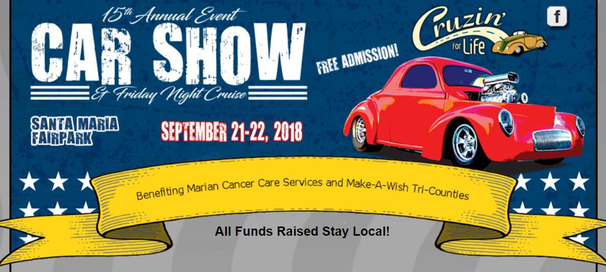 Cruzin For Life BBQ Car Show Dinner Fundraiser - Classic car show today near me