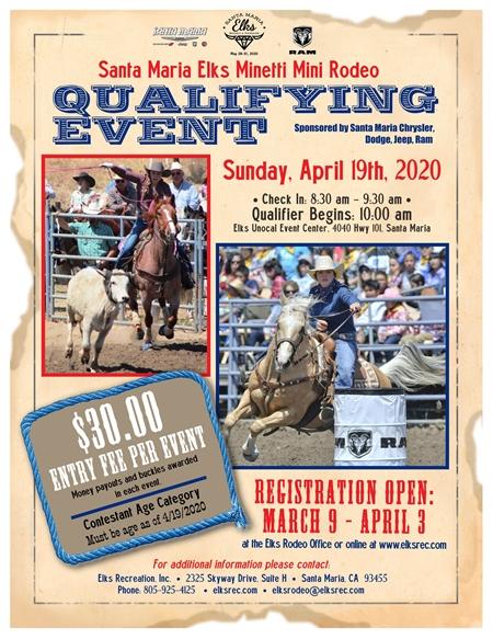 Mini Rodeo Qualifier 2020