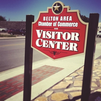 Visitors Center Sign