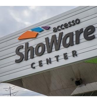 Exterior of accesso ShoWare Center - Logo of Venue