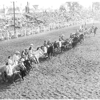 Sikeston Jaycee Rodeo 1953 to 1971