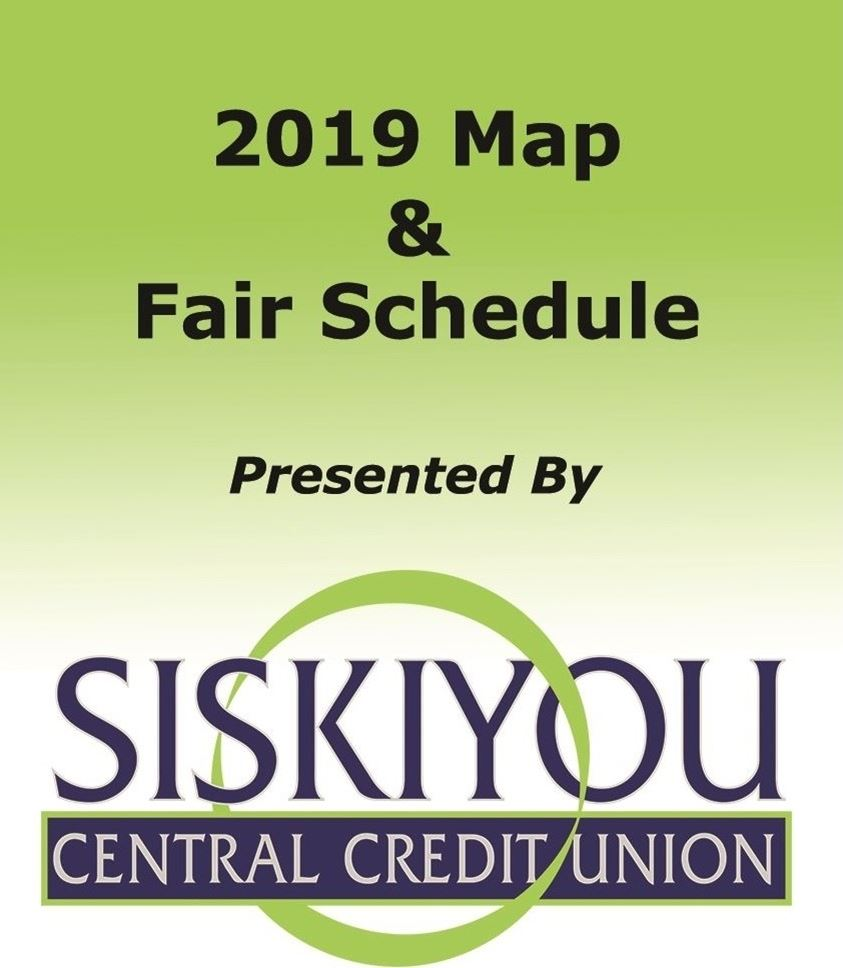 Pocket Schedule <br> presented by <br> Siskiyou Central Credit Union