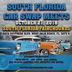 South FL Car Swap Meets - Car show west palm beach 2018