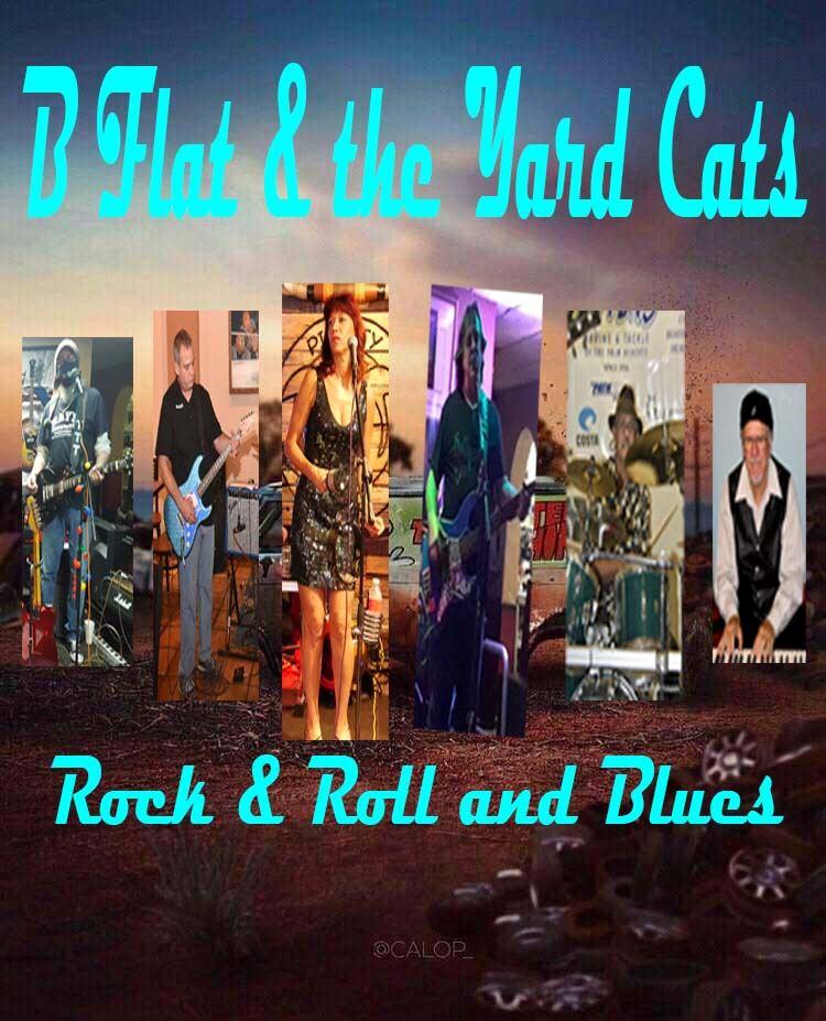 B FLAT & THE YARD CATS