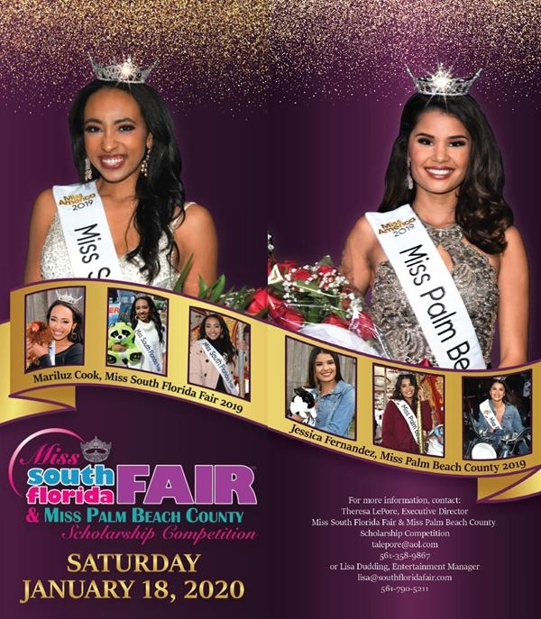 Miss South Florida Fair & Miss Palm Beach County 2019