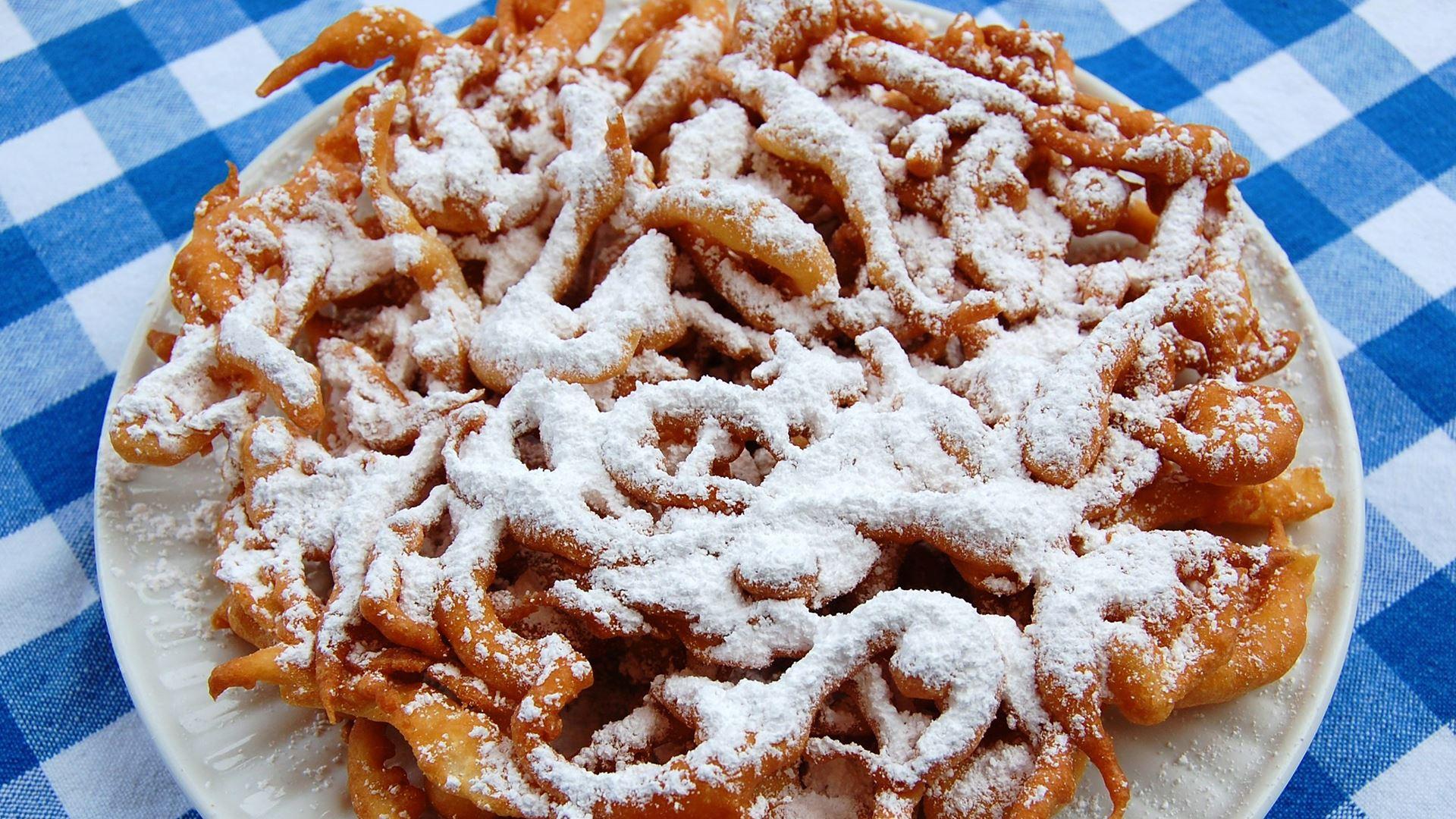 Funnel Cake at the Fair Eats Drive-Thru