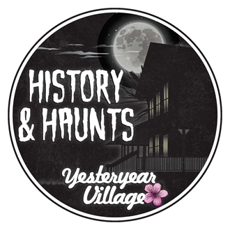 History & Haunts with Yesteryear Village logo
