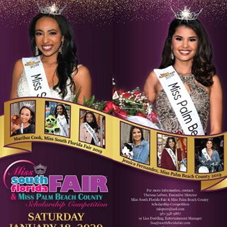 Miss South Florida Fair/Miss Palm Beach County Competition
