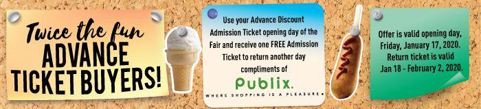 Publix promotion - Twice the fun!