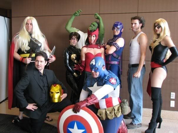 Adults' Superhero Costume Contest