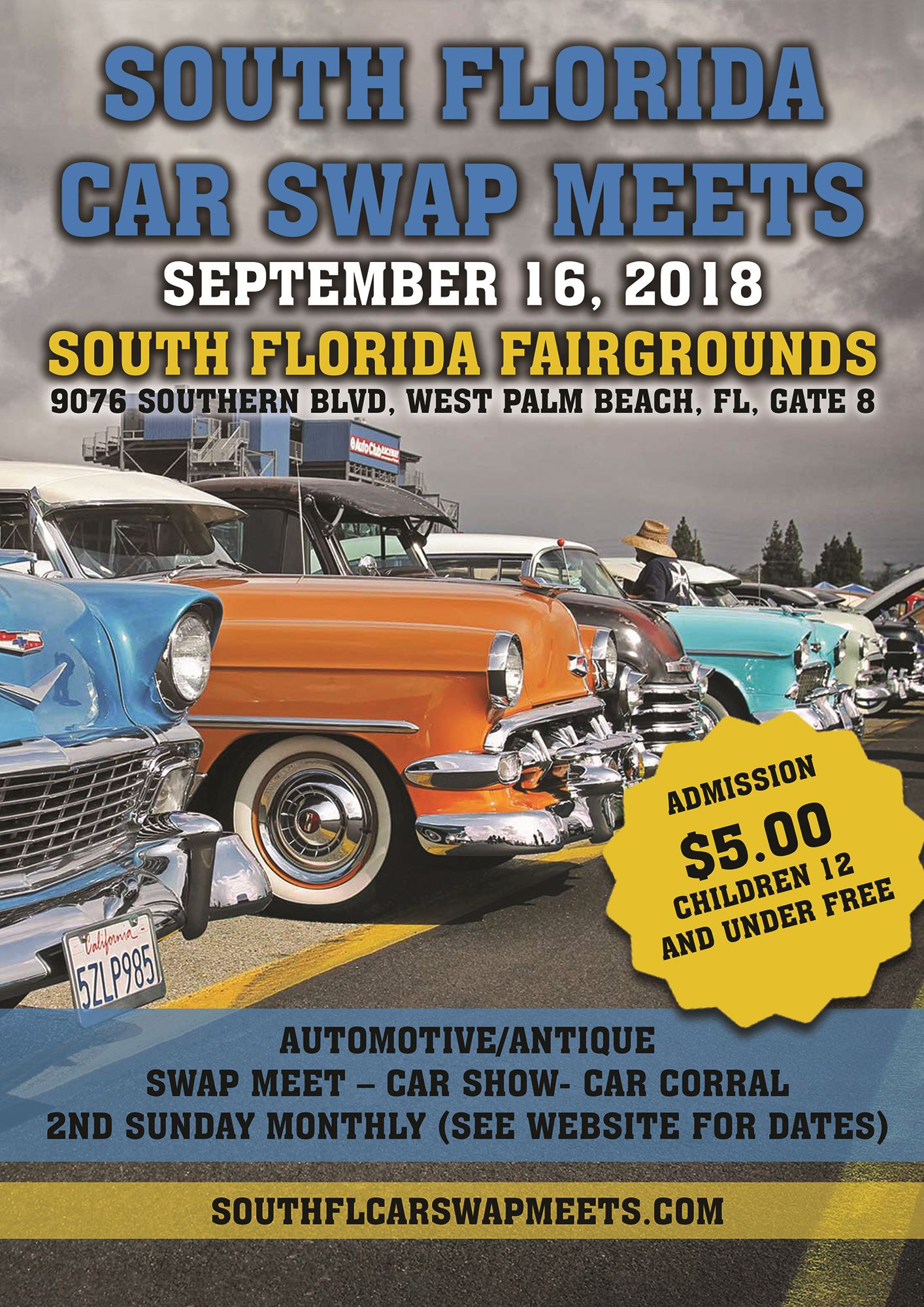 South Florida Car Swap Meet Car Show - Car show florida