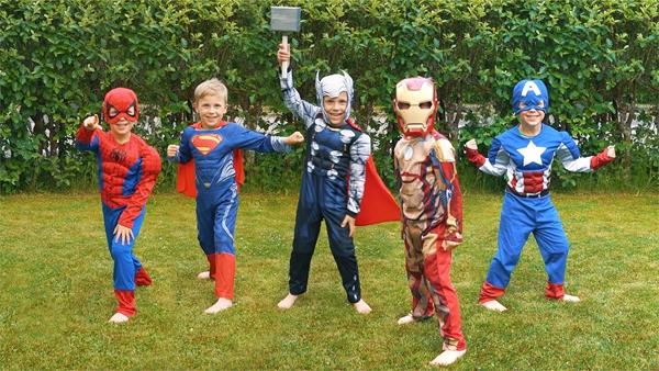 Kids' Superhero Costume Contest