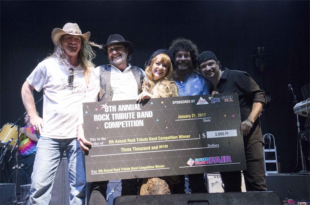 Tribute band winners photo