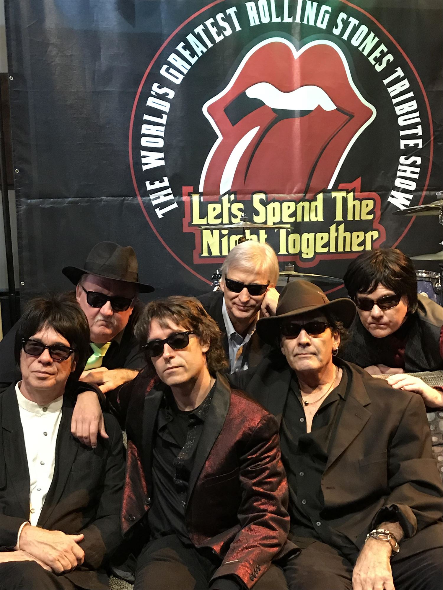 """Let's Spend the Night Together"" Rolling Stones Tribute Band"