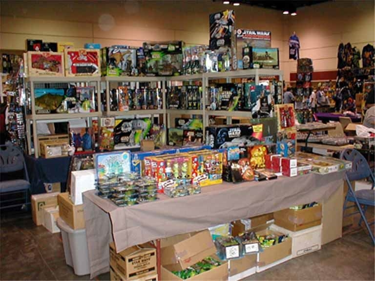 The Toy Guys will be at the Gigantic Garage Sale with a variety of collectibles.
