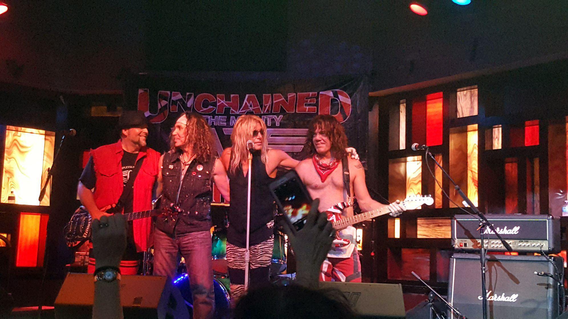 """""""Completely Unchained"""" Van Halen Tribute Band"""