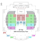 Color-Coded Seating Chart