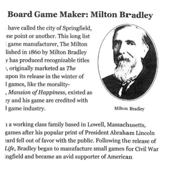 Games: Milton Bradley