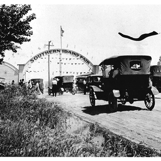 Entrance to the 1st Fair - 1916