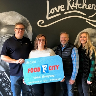 $3,800 Raised for Love Kitchen During 100th Tennessee Valley Fair