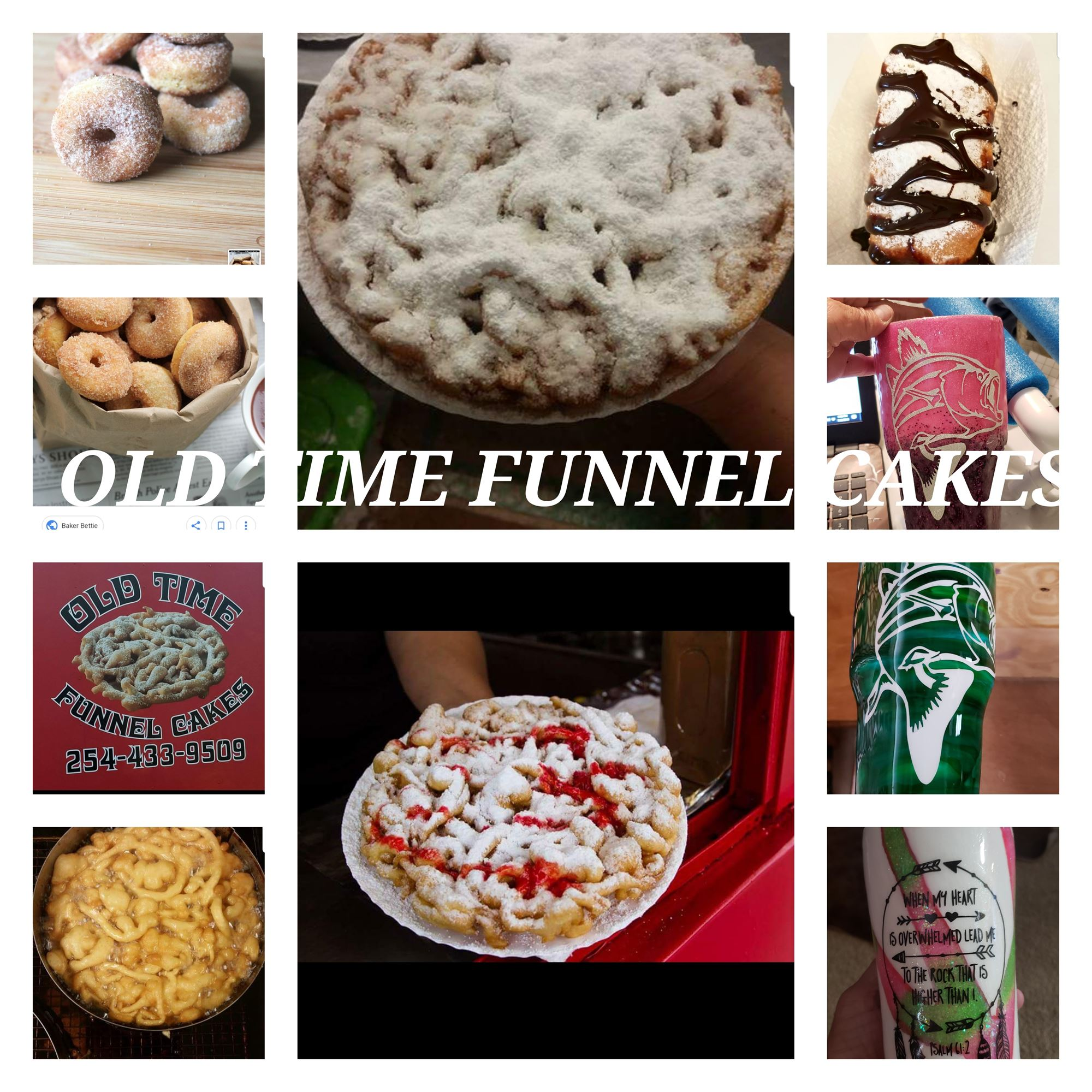 Old Time Funnel Cakes