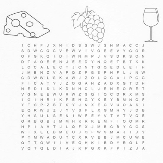 The Big E Farmers Market Word Search