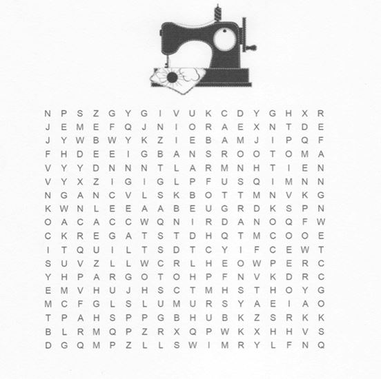 The Big E New England Center Word Search