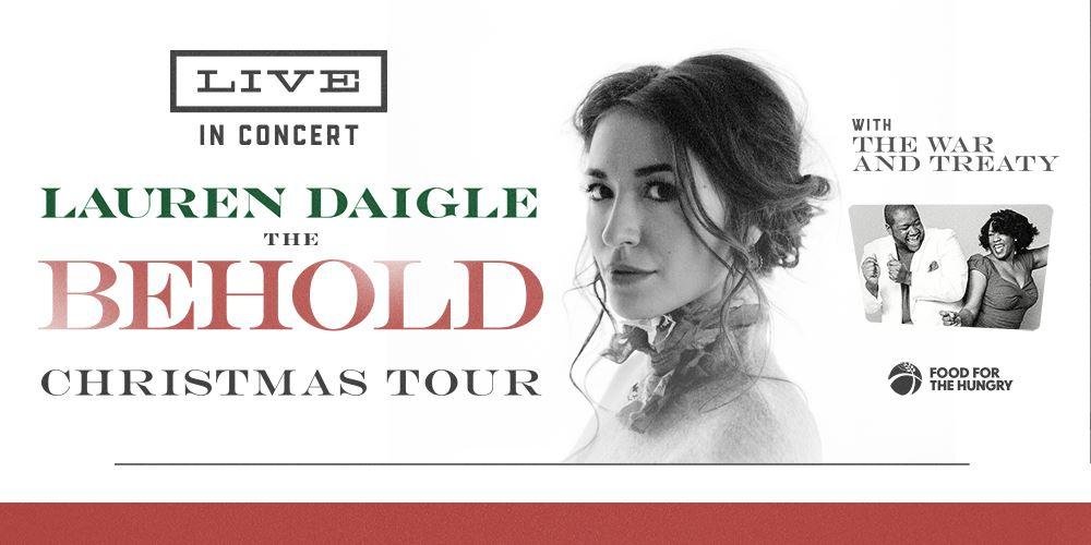 Lauren Daigle The Behold Christmas Tour