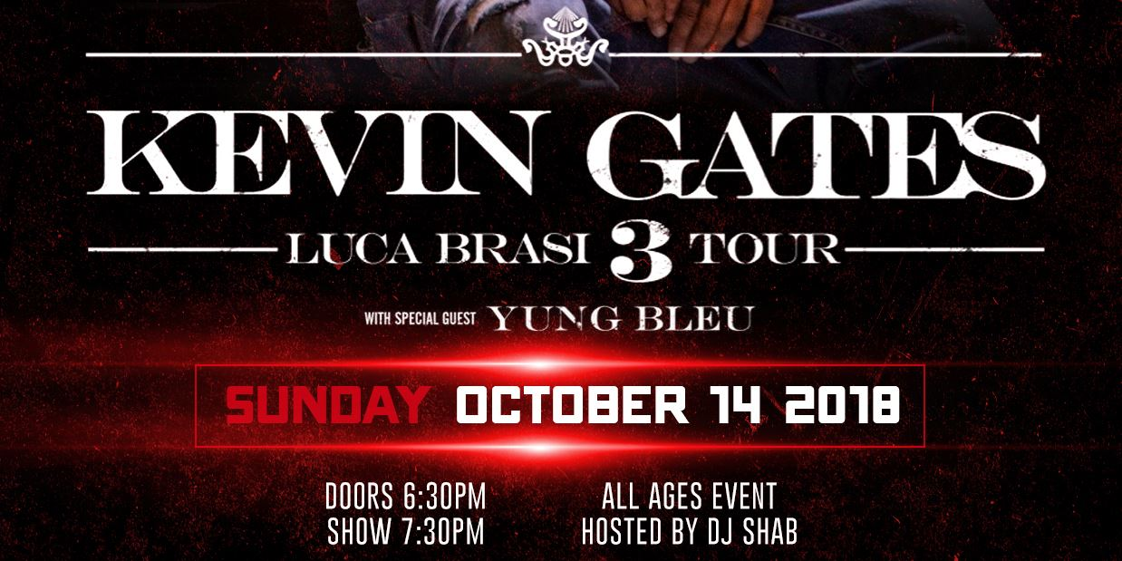 Kevin Gates Tour 2017   Find Your World