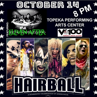 Hairball: A Bombastic Celebration of Arena Rock! On Sale Now!