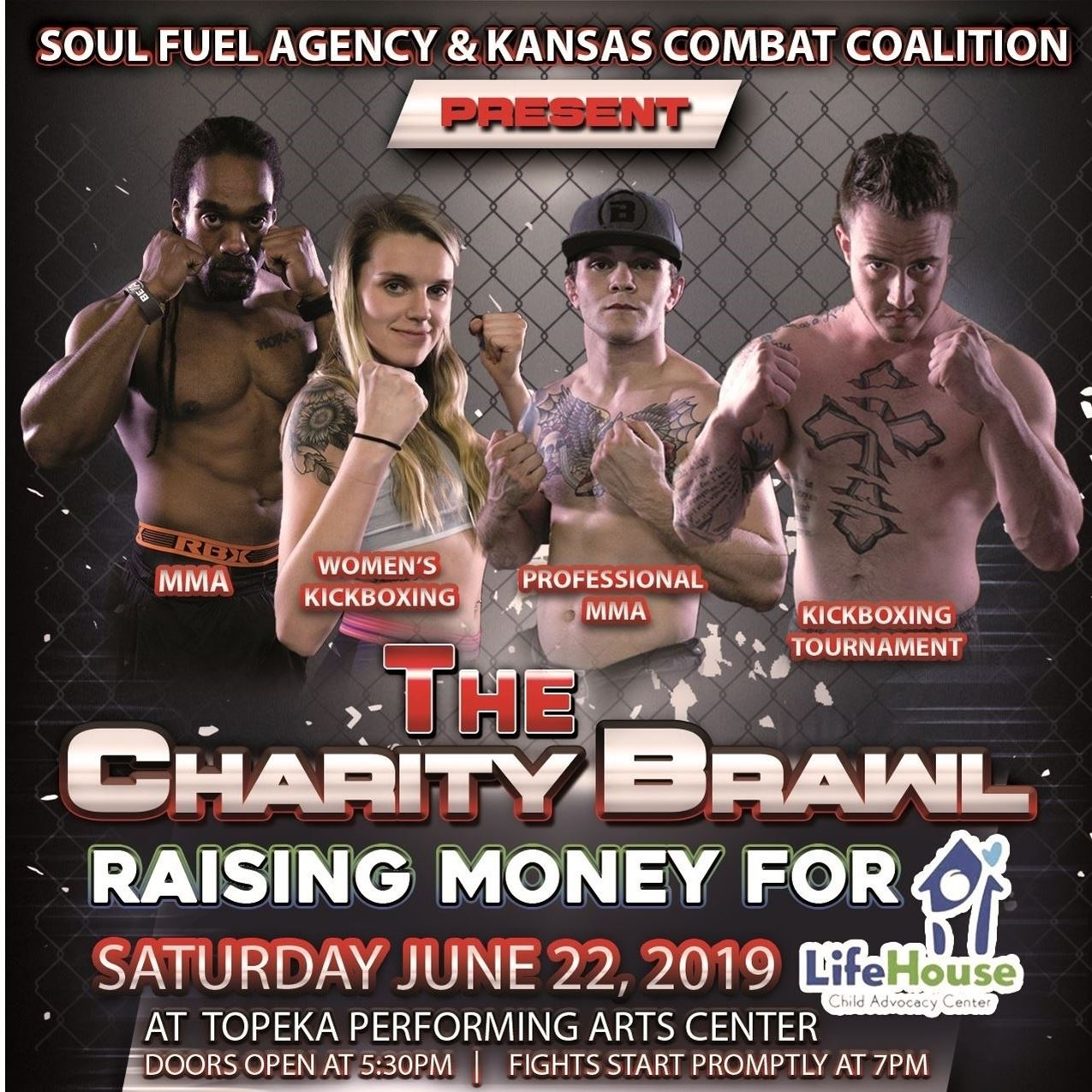 The KCC Presents: The Charity Brawl