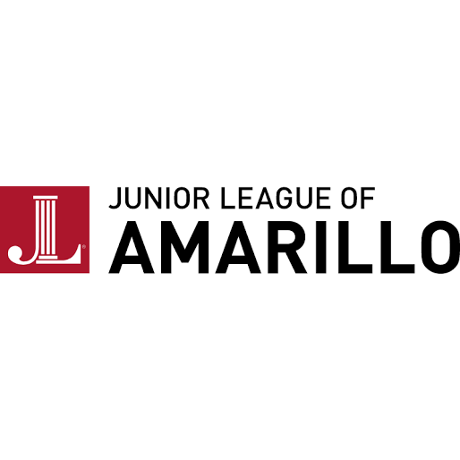 black, red, white, junior league logo