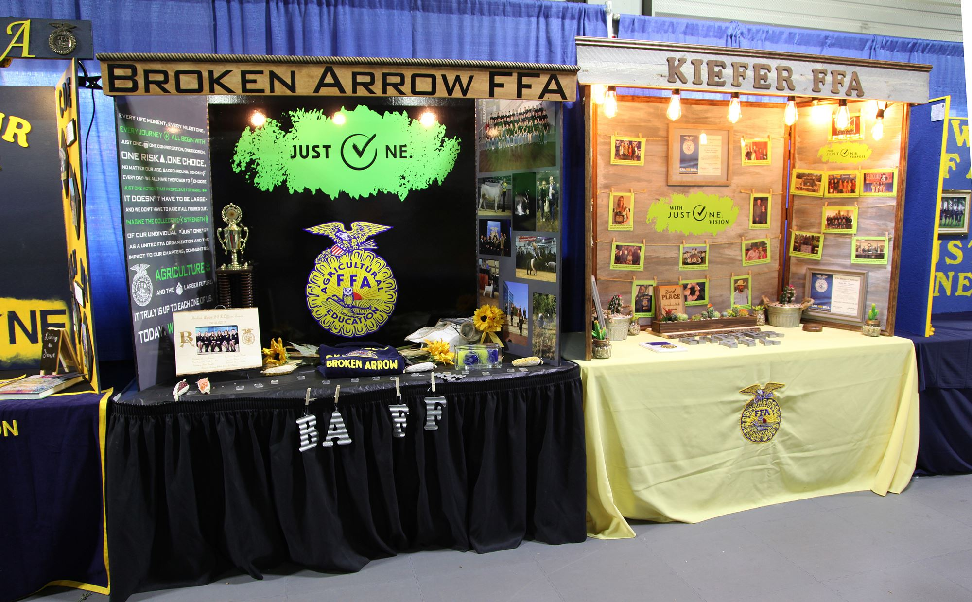 4-H & FFA Competitive Exhibits Displays