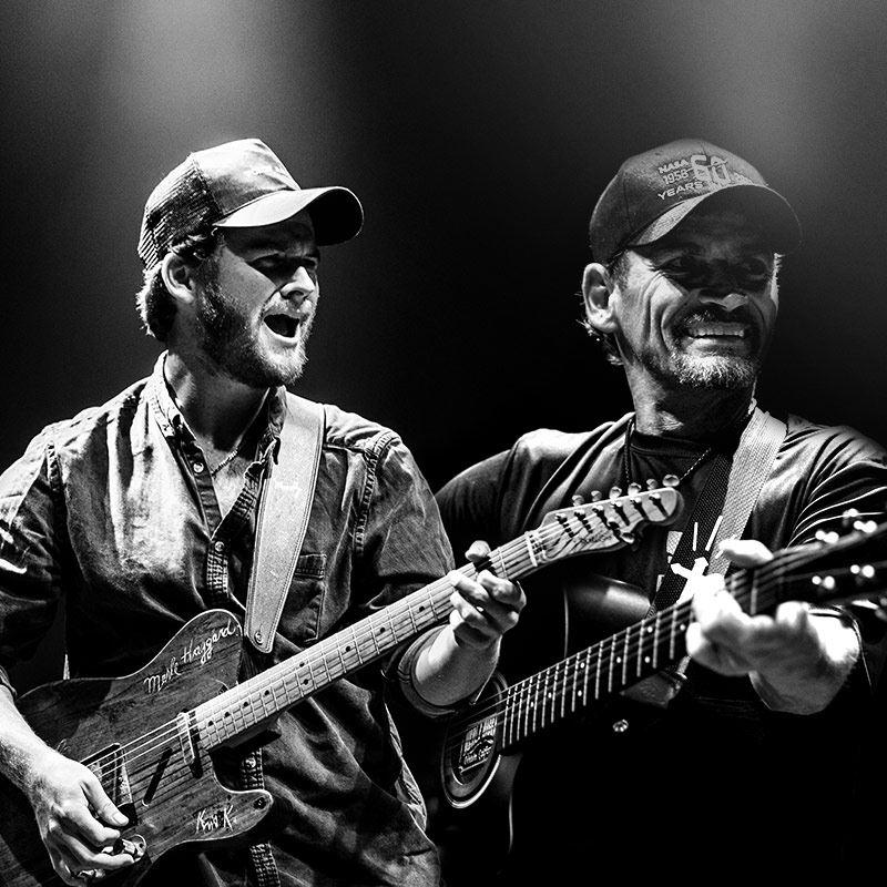 8pm - Ben & Noel Haggard