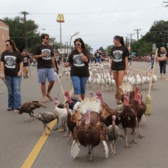 The 40th Annual Cuero Turkeyfest
