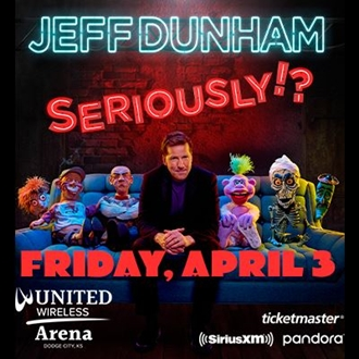 Jeff Dunham in Dodge City April 3, 2020