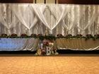 Backdrop behind head table